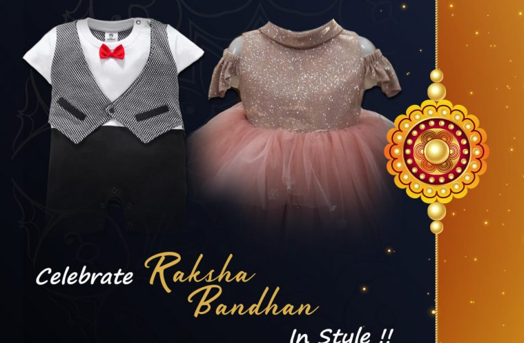 Celebrate Raksha Bandhan in style.  Visit Kids 24 for latest collection. Newborn…