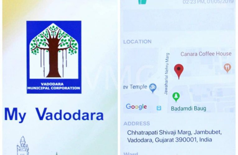 Vadodara City's Command and Control Center is equipped with a GIS database….