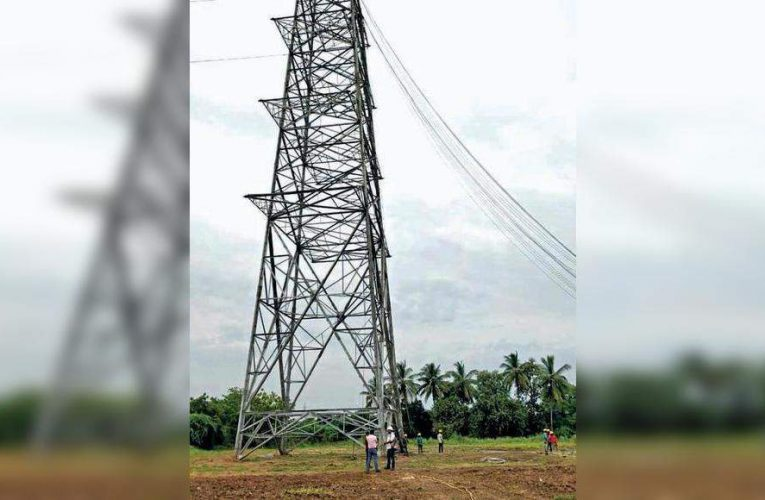 Sleek towers replace conventional HT lines | Vadodara News